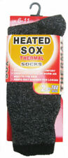 Heated Sox Winter Thermal Work Boots Insulated Crew Socks 9-13