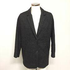 Levis Strauss & Co Coat Size UK M Grey Wool Blend Smartwear Winter Men's 241501