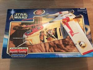 star wars attack of the clones republic gunship hasbro