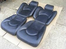Mercedes Seats Front 96 - Complete Black Perf. Heat | R129 SL FL Special Edition