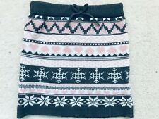 Baby Girls Grey and Pink Patterned Knitted Skirt Age 18-24 years from Primark