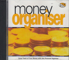 Money Organiser CD Rom Expenses Bills Keep Track Of Personal Finances FASTPOST