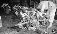 JO SIFFERT COOPER MECHANIC PHOTOGRAPH MONACO GRAND PRIX F1  1967 PADDOCK