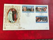 ASCENSION ISLAND 1997 FDC BENHAM ROYAL GOLDEN WEDDING QUEEN ELIZABETH