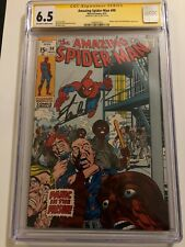 Amazing Spider-Man #99 CGC 6.5 SS Signed by STAN LEE