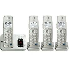 PANASONIC KX-TG484SK 4 HANDSET DECT 6.0 PLUS CORDLESS PHONE *NIOB
