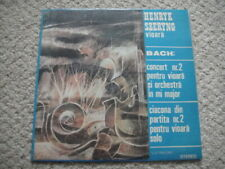 Henryk SZERYNG -  violin, BACH:Concerto no.2 for Violin/Chaconne in D minor LP