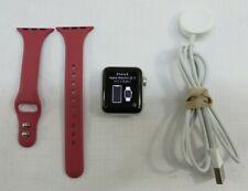 Apple Watch Series 3 A1858 38mm Aluminum Case Pink Band