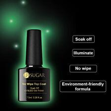 UR SUGAR Luminous No Wipe Top Coat 7.5ml UV Gel Polish Soak Off Nail Art Varnish