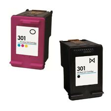 Refilled HP 301 Black And HP301 Colour Ink Cartridges CH561EE CH5621EE