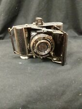 Vintage Balda Baldax 6X6cm Folding Camera W/Gorlitz f/2.9 Trioplan Lens Untested