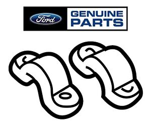 For Ford Lincoln Set of Upper and Lower Steering Column Shift Tube Clamps OES