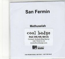(FD55) San Fermin, Methuselah - 2014 DJ CD