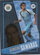 TOPPS I-CARD SERIES 2006-07 #049-MANCHESTER CITY & GREECE-GEORGIOS SAMARAS
