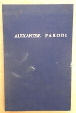 Alexandre Parodi, Volume d'hommage [collectif]