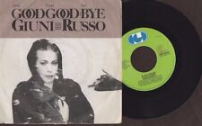 """Giuni Russo - Good Goodbye / Post Moderno - 1982 7"""" picture sleeve single 45rpm"""