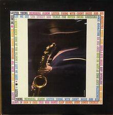 Lester Young-Memorial Album-Epic 6031-2LP COUNT BASIE
