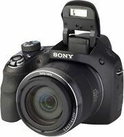 Sony DSCH400 DSC-H400 Digital Bridge Camera 63x Optical Zoom 20.1M HD VIDEO 32GB
