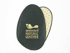 Insoles Half - Leather Black
