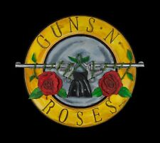 Guns n Roses Greatest Hits Album hand carved 3 D on wood