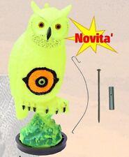 (45651FLS) STAMPO GUFO SPAVENTAPASSERI IN PLASTICA FLUO PER CACCIA SPORT PLAST