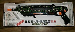 NEW Bug-A-Salt 2.0 Original Salt Gun Fly Bug Pest Authentic Eradication CAMO