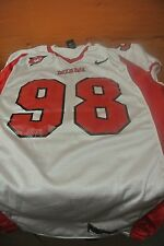 Miami University Of Ohio White Game Used Football Jersey Size Xl #98