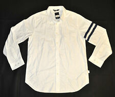 Men's UNDEFEATED Oxford Button Down Shirt White size L (T87) $78