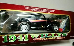 WILLYS GASSER 1941 COMPETITION COUPE 1/18 ROAD LEGENDS DIECAST  CAR RARE NIB
