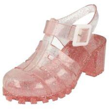 Scarpe sandali medi grigi per bambine dai 2 ai 16 anni