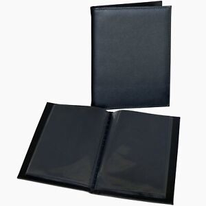 Deluxe 6x4 slip in 36 mini photo albums, black pages
