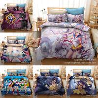 Sailor Moon 3D Print Bedding Set 3PCS Of Soft Duvet Quilt Cover Pillowcase Gift
