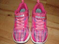 Girl's Toddler Skechers Jumpin' Jams Dream Runner Pink multi Size 1.5 Pre-Owned