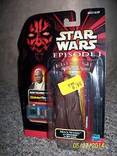 Star Wars Episode 1 Mace Windu Jedi Action Figure Hasbro Samuel AdamsJackson lol