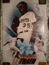 MLB Baseball Poster Dontrelle Willis Florida Marlins ~ D TRAIN