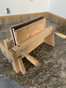 Wooden book press, complete set Laying Press, Finishing Press, with boards