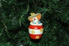 Rodeo Clown Christmas Ornament