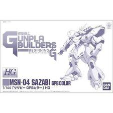 Model Warrior Gundam Builders / HG 1/144 White Sazabi GPB Color Bandai Gunpla