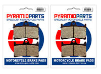 Front Brake Pads (2 Pairs) for Yamaha FZS 600 S Fazer 01-03