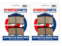 Front Brake Pads (2 Pairs) for Yamaha FZS 600 S Fazer 01-03