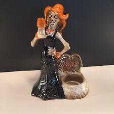 Drop Dead Gorgeous Boney Bunch RETIRED Yankee Candle Halloween Tea Light Holder