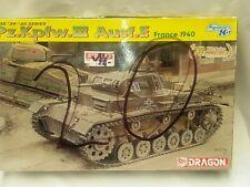 VINTAGE DRAGON WW2 MODEL KIT UNUSED 1:35 PZ.KPFW.III AUST.E FRANCE 1940 6631