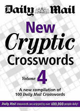 Daily Mail New Cryptic Crosswords vol 4 BRAND NEW BOOK (Paperback 2008)