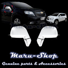 Chrome Side Rear View Mirror Cover Trim for 11~ Chevrolet Orlando