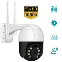 1080P Wireless Security Camera Indoor Outdoor WiFi System Waterproof Dome