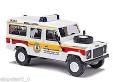 Busch 50308 Land Rover »Canine de la croix-rouge«, H0 Modèle de voiture 1:87