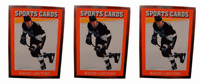 (3) 1991 Sports Cards #8 Wayne Gretzky Hockey Card Lot Los Angeles Kings