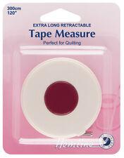 Hemline Extra Long Retractable Tape Measure