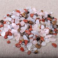 Wholesale 500g Bulk Tumbled Stones Mixed Agate Quartz Crystal Healing Mineral