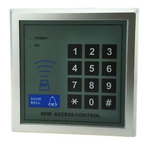 Door Access RFID Proximity Reader Password Keypad Security Entry Open Control